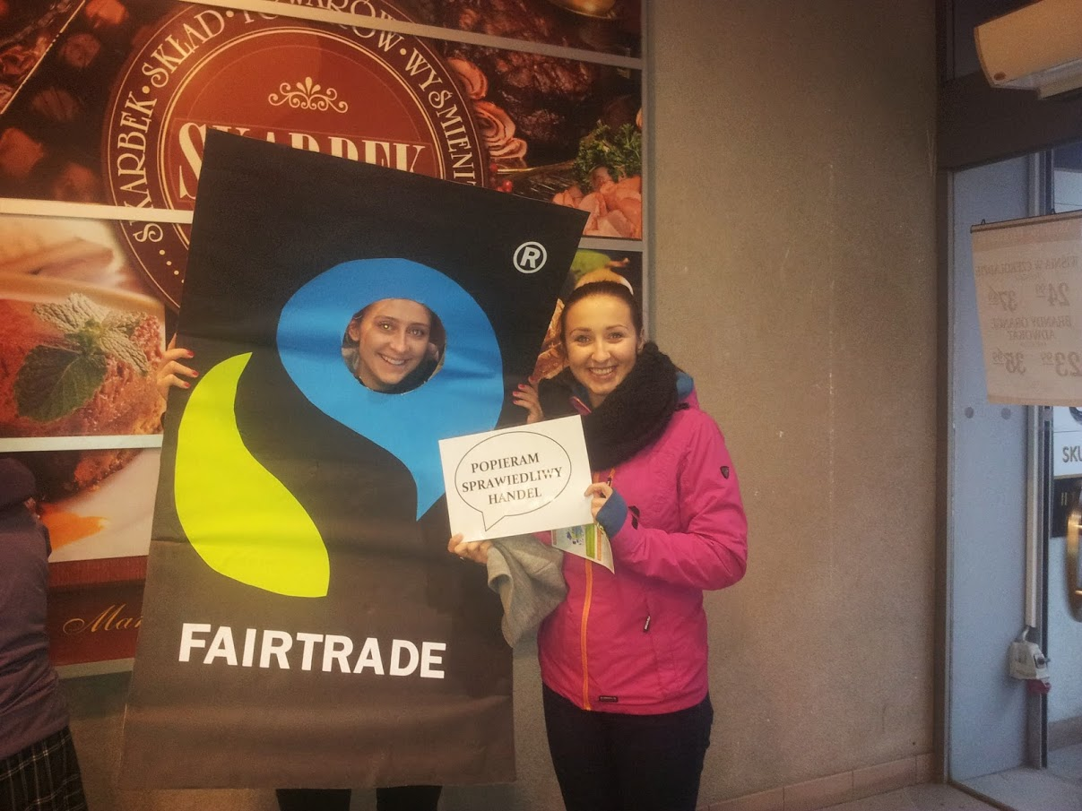 Photo taken by students from Zespół Szkół Handlowych in Katowice during Fair Trade 2014 event.