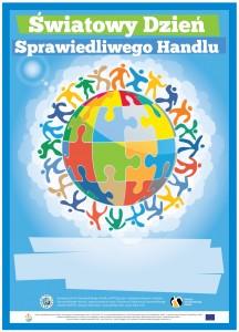 Plakat z okazji Światowego Dnia Sprawiedliwego Handlu