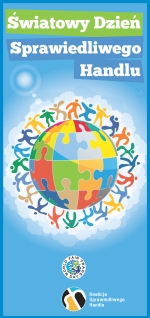 Ulotka z okazji Światowego Dnia Sprawiedliwego Handlu