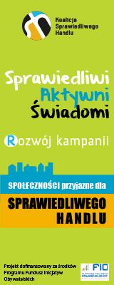 Rozwój kampanii Społeczności Przyjazne dla Sprawiedliwego Handlu w Polsce